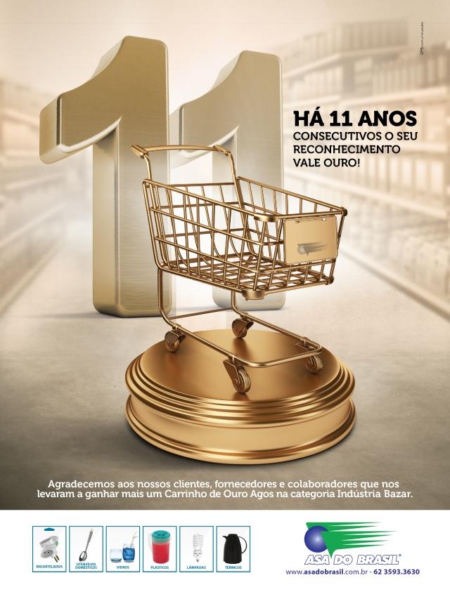 Peça: Anúncio (revista Agos) | Redação: Delan Salazar e Kyara Costa | Direção de arte: Neuber Dias | Agência: GP3 Comunicação