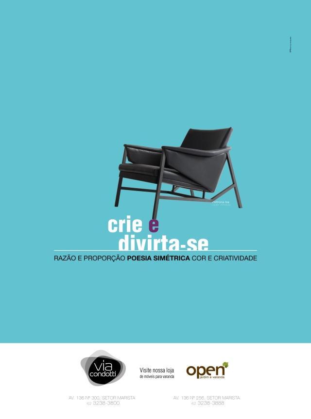 Peça: Anúncio – Redação: Delan Salazar – Direção de arte: Neuber Dias – Agência: GP3 Comunicação