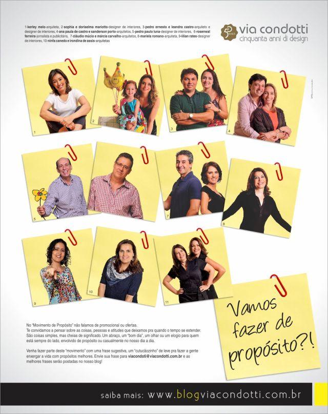 Redação: Michelle Rabelo e Delan Salazar - Direção de arte: Sergio Campos - Agência: GP3 Comunicação