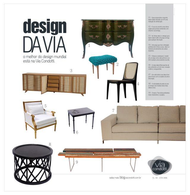 ''Design da Via - Edição I'': Projeto: Eloisa Lobo - Redação: Delan Salazar - Agência: GP3 Comunicação